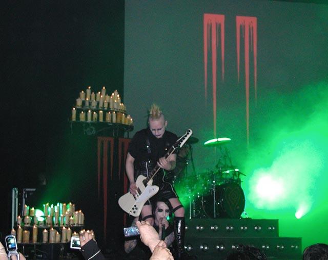 Marilyn Manson e Tim Skold