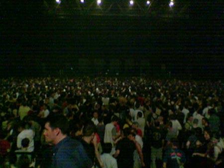 Il pubblico allo Zénith