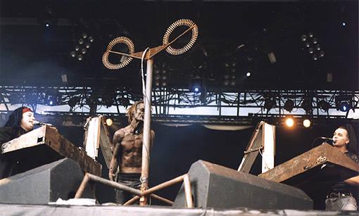 Das Ich live EuroRock Festival 1999