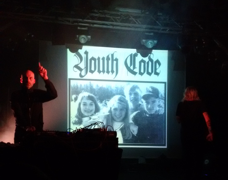 Youth Code, Parigi 8/10/2016